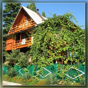 Гостевой дом forest house расположен в п